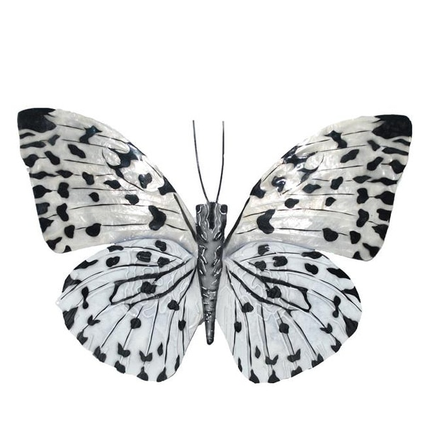 Eco Style Home Esh126 Erfly Wall Decor Black White