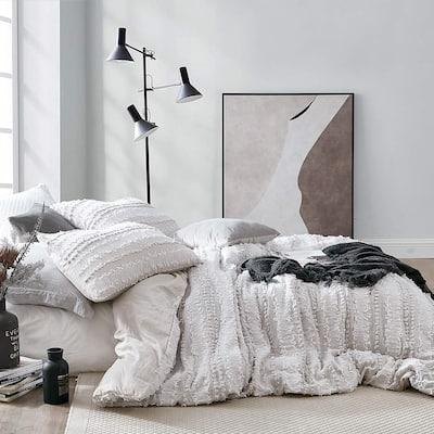 Lenora Jacquard - Clipped Cotton Oversized Duvet Cover