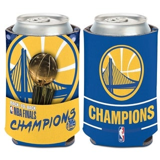 Golden State Warriors World Champion Can Cooler - Blue