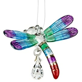 Fantasy Glass Dragonfly Rainbow Maker, Summer Rainbow