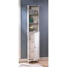 Wood Bathroom Cabinets Storage Shop The Best Deals For Jan 2017