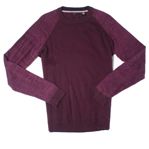 Ted Baker Mens Sweater Purple Size Large L (4) Pullover Crewneck