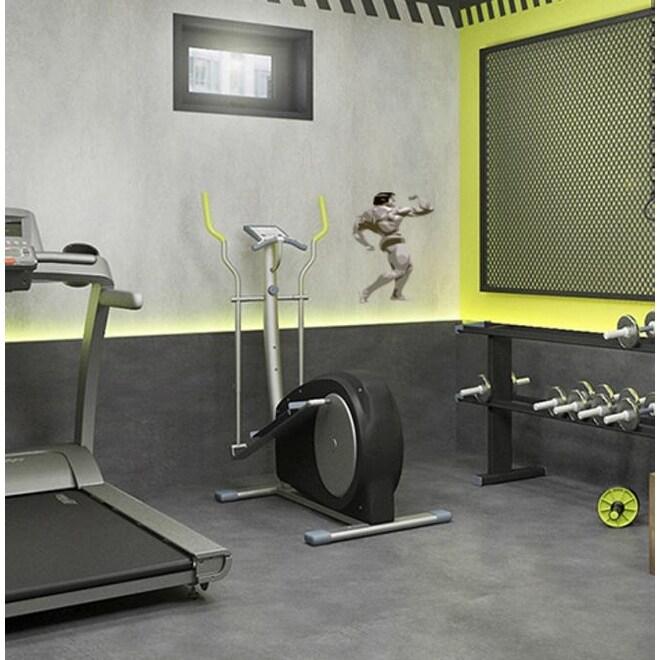 Gym Decor Polygonal Wall Decal Bodybuilder Polygon Modern Wall Art Sticker Overstock 31820819
