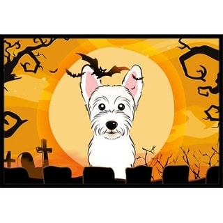 Carolines Treasures BB1784JMAT Halloween Westie Indoor & Outdoor Mat 24 x 36 in.