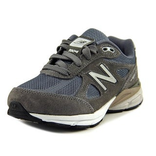 New Balance KL990 Youth EW Round Toe Synthetic Gray Sneakers