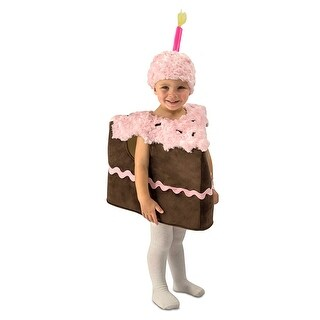 Piece of Cake Toddler Costume X-Small/Small - Brown