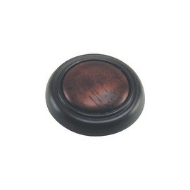 Laurey 1-1/4 Oil Rubb Brz Knob