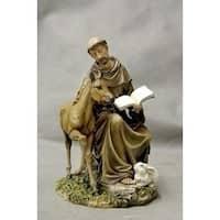 "Pack of 2 Joseph's Studio St. Francis With Animals Religious Figures 9"""
