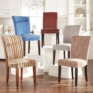 Link to Parson Classic Upholstered Dining Chair (Set of 2) by iNSPIRE Q Bold Similar Items in Dining Room & Bar Furniture