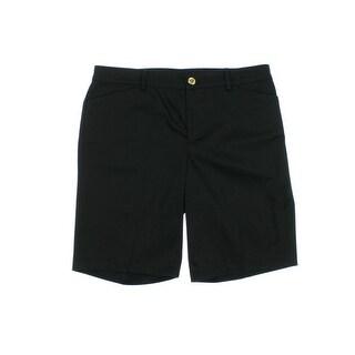 Lauren Ralph Lauren Womens Twill Slimming Fit Khaki Shorts - 12