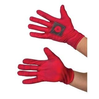 Mens Deadpool Halloween Costume Gloves