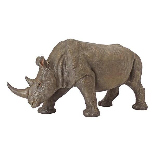 Design Toscano South African Rhino Garden Sculpture