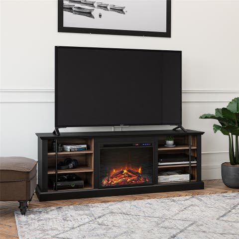 Avenue Greene Calavar Fireplace TV Stand for TVs up to 70 inches