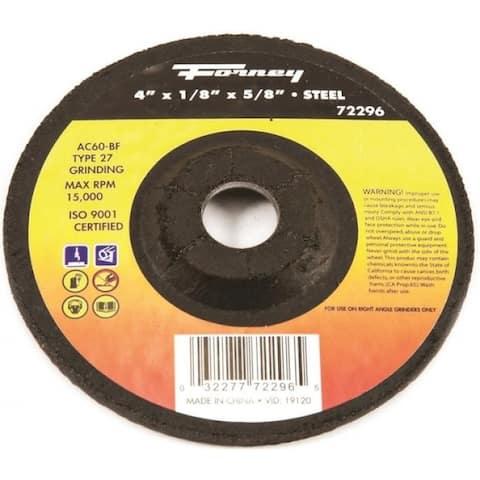 Forney 72296 Grinding Wheel, 60 Grit