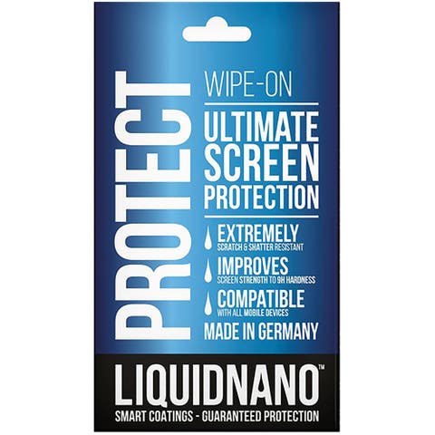 LiquidNano - The Ultimate Wipe-on Screen Protector - Clear