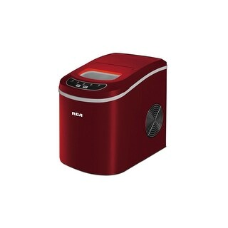 iGloo ICE102-RED Compact Ice Maker Manufacturer Refurbished