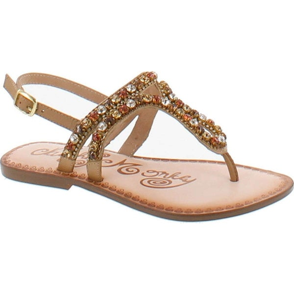 Naughty Monkey Women's Style Stalker Sandals
