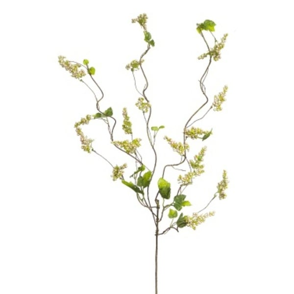 """Pack of 6 Yellow Berry and Twig Artificial Decorative Sprays 36"""""""