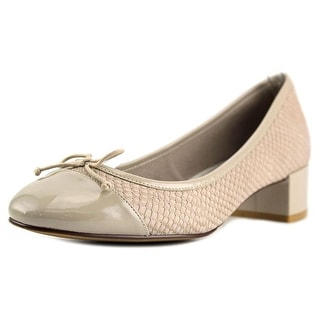Cole Haan Sarina Pump   Round Toe Synthetic  Heels