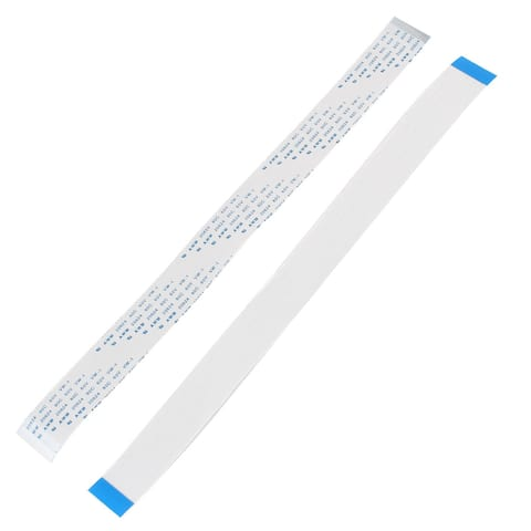 4 Pcs 250x20mm 0.5mm Pitch 40 Pins FPC Flex Wire FFC Flexible Flat Ribbon Cable