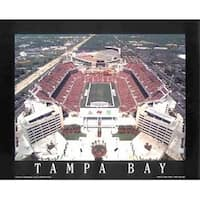 ''Tampa Bay, Florida - Raymond James Stadium'' by Mike Smith Sports/Games Art Print (22 x 28 in.)