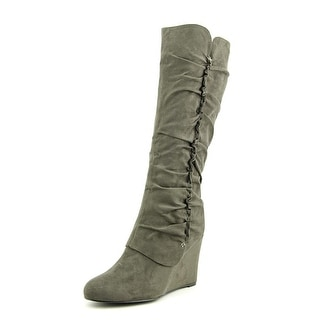 Mia Renee Round Toe Synthetic Knee High Boot