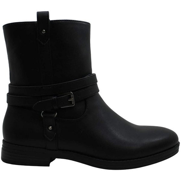 Style & Co. Womens State Faux Leather Ankle Booties. Opens flyout.