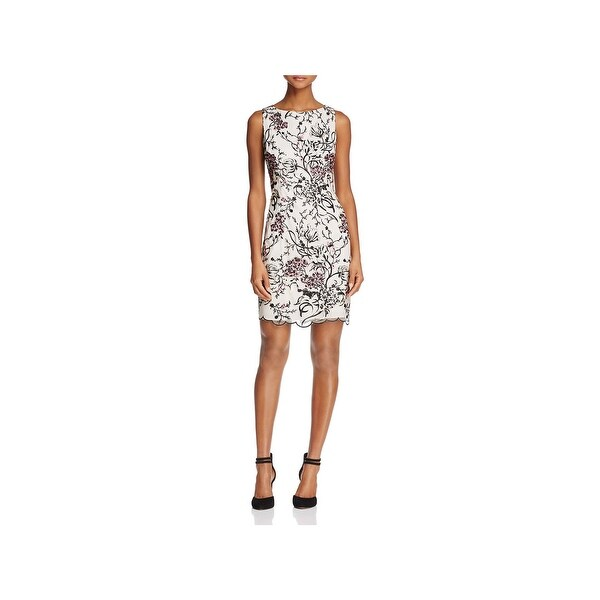 Aidan Mattox Womens Cocktail Dress Lace Party