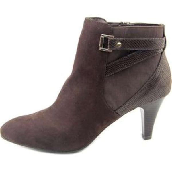 Karen Scott Womens Majar Closed Toe Ankle Fashion Boots, Brown, Size 5.5