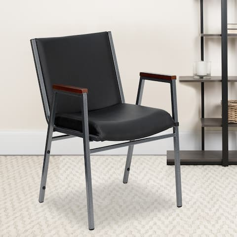 Heavy Duty Stack Chair with Arms
