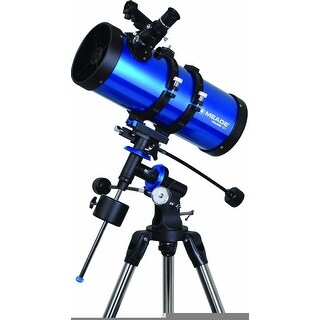 Meade Polaris 127mm f/7.9 Equatorial Reflector Telescope - Blue