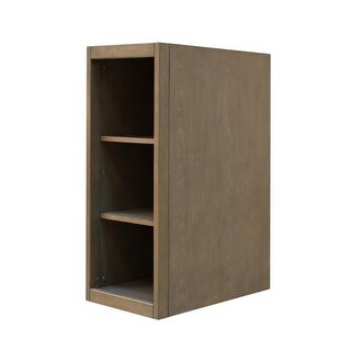 """Sunny Wood AN1221 Aiden 12"""" Hardwood Vanity Cabinet Only"""
