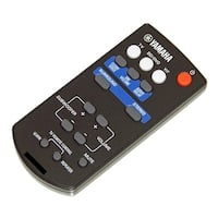 OEM Yamaha Remote Control Originally Shipped With: YAS-201