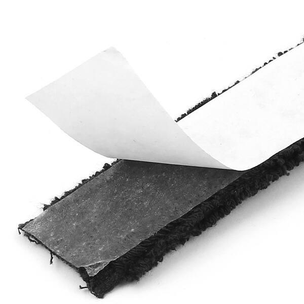 2pcs Self-Adhesive Racket Grip Towel Tape Wrap for Tennis Badminton Black