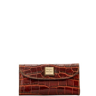 Dooney & Bourke Croco Fino Checkbook Organizer (Introduced by Dooney & Bourke at $158 in Sep 2016)