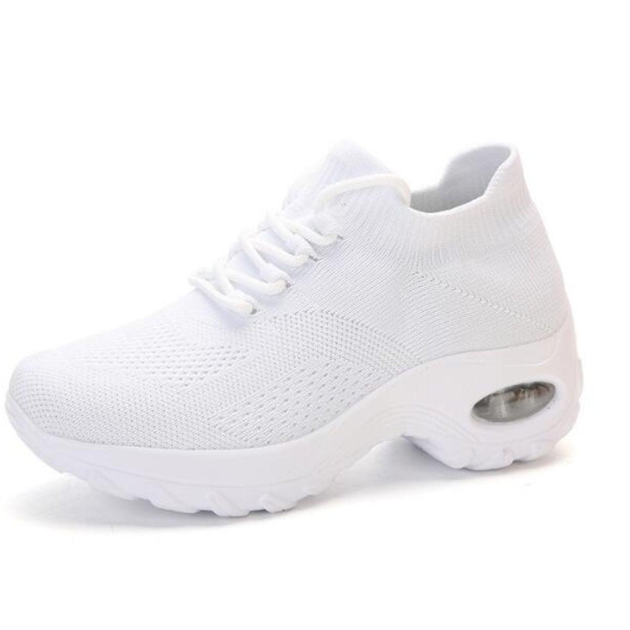 Platform Tennis Shoes Walking Sneakers