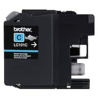 Brother LC101C Brother Innobella LC101C Ink Cartridge - Cyan - Inkjet - 300 Page - 1 Each