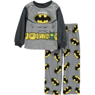 DC Comics Boys 2T-4T Batman Pajama Set
