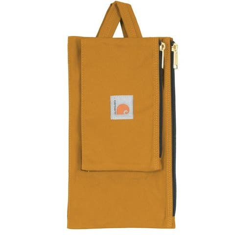 Carhartt 10090202 Legacy Heavy Duty Poly Fabric Tool Pouch Set, Brown