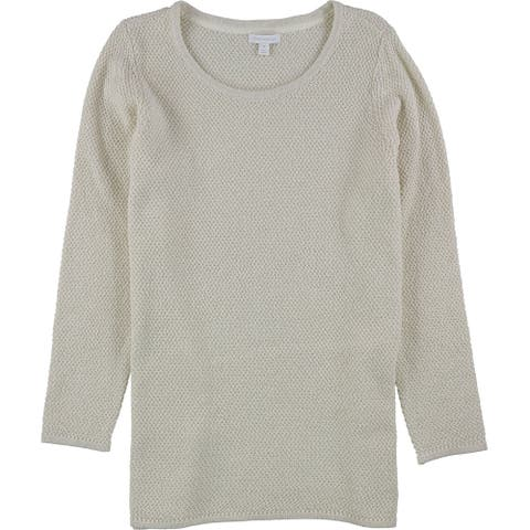 Charter Club Womens Seed Stitch Pullover Sweater