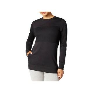 Adidas Womens Sweatshirt Fleece Crew Neck