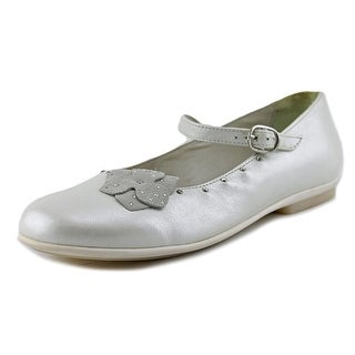 Primigi Sleda Round Toe Leather Mary Janes