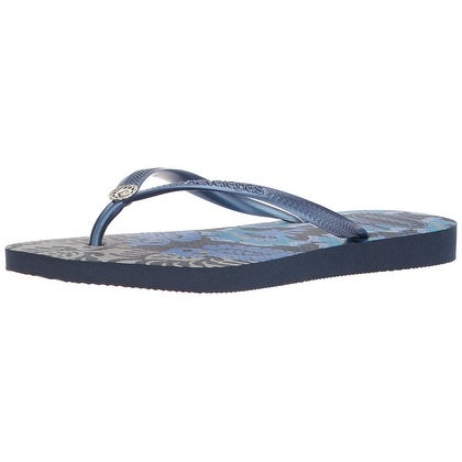 9bec356a1 Shop Havaianas Women s Slim Royal Sandal Navy Blue - 11 - Free Shipping On  Orders Over  45 - Overstock - 21496429