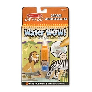 Melissa & Doug Wow! Safari Water Reveal Pad
