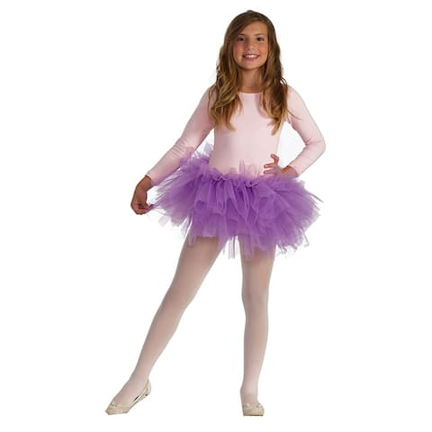 Fluffy Tutu Child Costume, Purple