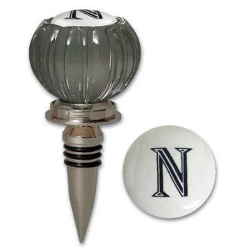 """Cypress Home Monogram Bottle Stopper """"N"""""""