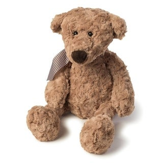 Joon Charles Rosy Plush Teddy Bear, Light Brown, 10-Inches - Brown
