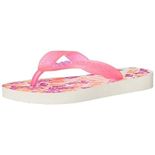 Havaianas Girls Fantasy Printed Flip-Flops - 3/4 medium (b,m)