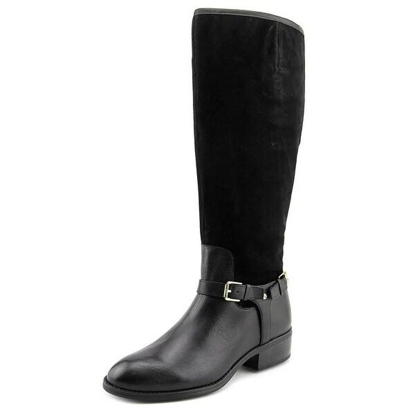 Lauren Ralph Lauren Marion Wide Calf Women Round Toe Suede Knee High Boot