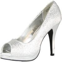 Rampage Womens Gracee Platform Pumps Shoes